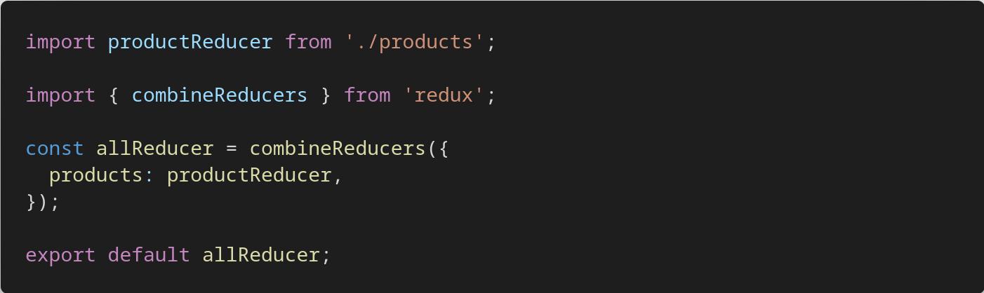 REDUX 2-combine reducer
